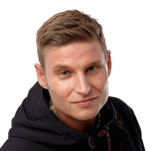 Comedian Scott-Bennett